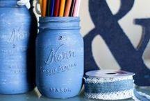 Mason Jars / Fun DIY with Mason and Ball Jars