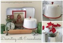 Upcycling Vintage Finds / Ideas on how to upcycle those vintage finds.