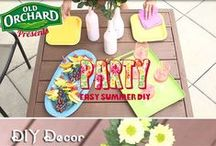 The Ultimate Deck Party / Tips and ideas for hosting the ultimate deck or backyard party! Make the most of summer!