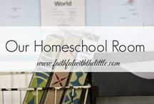 Homeschool/Rooms / Homeschool Rooms and Orginization