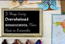 Homeschool/ Encourgement / Encouragement for Homeschool Moms