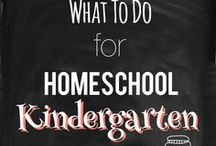 Homeschool/Kindergarten