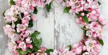 Apple Blossom Cottage / Apple blossoms by frenchpapermoon.com