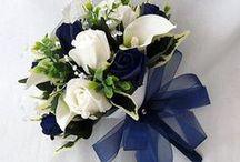 Decoración de fiestas de xv años color azul marino / Decoración de fiestas de xv años color azul marino http://ideasparamisquince.com/decoracion-fiestas-xv-anos-color-azul-marino/