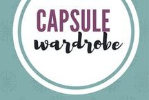 Capsule Wardrobes / Declutter your wardrobe.  Develop a simple and capsule wardrobe to eliminate decision fatigue and start loving all the clothes in your closet.  Simplify your closet. Simplify your clothes. Dress with less. Project 333 fashion challenge. #capsulewardrobe