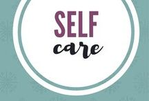 Self Care / Tips to take care of yourself.  Make time for self care.
