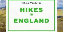 Hiking England / Hikes in England - Peak District | Lake District | North York Moors | Northumberland National Park | Exmoor | Dartmoor | South Downs