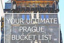 PRAGUE CZECH / Prague 2017 idea's
