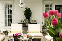 Outdoor Decor and Gardening Ideas / Gorgeous outdoors spaces!