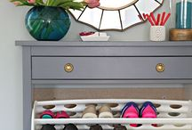 Small Space Organization / Great organization ideas for small spaces!