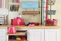 Craft Rooms / Craft rooms that you will want to be creative in for hours!