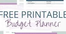 Printables / Single moms, really all moms like free printables. Find ways to organize, budget and parent here.