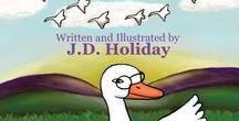 JANOOSE THE GOOSE / A picture book for children~ http://jdholiday.blogspot.com/ $10.00  http://www.barnesandnoble.com/w/janoose-the-goose-jd-holiday/1102513406?ean=9780981861494