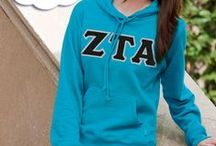 Zeta Tau Alpha / Something Greek specializes in sorority clothing for Zeta Tau Alpha. We have Zeta Tau Alpha recruitment shirts, bid day sweatshirts, ZTA letter key chains, picture frames, screenprinting ideas, custom greek apparel for Zeta Tau Alpha, and much more!  http://somethinggreek.com/shop/zeta-tau-alpha.asp / by Something Greek
