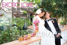 Exotic Love  LookBOOK- June 2012  / our TOP5 hotlist professionals collaborated together once again at Rancho Las Lomase to create the upcoming digital issue of our monthly LOOKBOOK. We hope The TOP5 LookBOOK gives you inspiration for your wedding day. Our wedding and event professionals love what they do and it shows. They are definitely fashion forward and think outside of the box. For more info on our TOP5 Pros, visit our website www.ourtop5hotlist.com. / by our TOP5 hotlist
