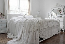 """The Swan Room / the white room for my B&B. Called the Swan Room after the book """"The Trumpet of the Swan""""  / by Lisa Smith"""