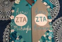 Sorority Paddles / Here are ideas for Greek custom sorority paddles! Creating Greek sorority paddles is a special time in a little's growing process, and all Greek sorority paddles should be made with love!  We hope this sorority paddles board helps you get inspired when creating your sorority paddle!