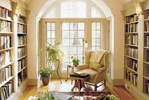 Reading Nooks / Places to curl up and read a good book!