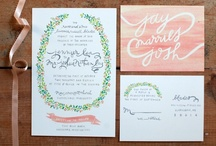Wedding & Events :: Paper / by largoargentina
