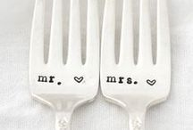 10 years as Mr and Mrs / 10 year wedding anniversary party / by Jenny Wright