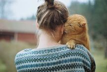 Cats. / by Erin Schauerte
