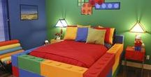 Amazing ideas for a little boy bedroom / Really creative ideas for decorating a boy's bedroom after the baby phase is over.