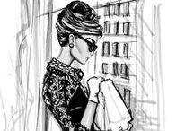 Ilustraciones moda / by Eva Sánchez