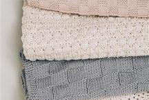 Små strikk / Dukker, håndklær m.m