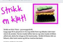Norske strikkeoppskrifter
