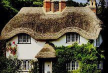 Gamle engelske hus