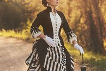 Victorians dress