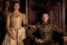Kong Henrik den åttende og hans koner!