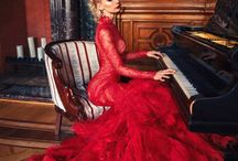 Lady In red !!