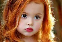 Rødt og vakkert hår