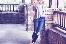 All Things Denim / Boho Chic, Trendy, Stylish Denim.  Skinny, Boyfriend, Destroyed, Released Hem, Distressed. You Can Never Have Too Much Denim!!