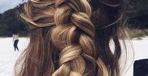 Hottest Hair Trends & Tricks / Never have another bad hair day again!!  Whether you are perfecting a messy bun or looking for a style that WOWS!  These tips and tricks have you covered.