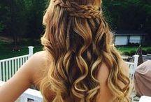 Penteados / Inspirações de penteados. Bjs.
