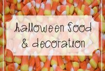 Halloween Food & Decoration / Yummy Halloween Treats and Design Inspiration...
