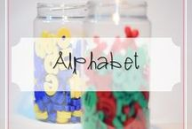 Alphabet / Alphabet Teaching Resources for Pre-K -  Second Grade. Worksheets, Activities, Games, Crafts and More.