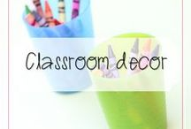 Classroom Decor / Some of my favourite examples of classroom decor - teaching doesn't have to be shades of grey!
