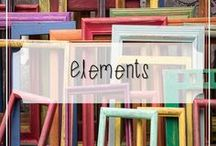 Elements / A Collection of Frames, Borders and Other Design Elements to Accentuate your Teaching Resources.