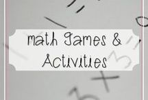 Math Games and Activities