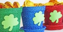 St. Patrick's Day Ideas / St. Patrick's Day party decorations, recipes and St. Patrick's Day home decor plus St. Patrick's Day craft ideas for home or school.