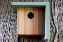 garden/tree/birds houses / for birds, human and fairy ...