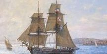 The Old Days of Sail: Period Schooners & Ships / Ships that have inspired my novels, particularly To Tame the Wind, Echo in the Wind and Wind Raven