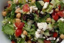 Salads / by Kathleen Mathena