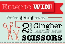 Contests & Giveaways / by Stitch Craft Create