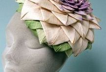 Fabulous Fabric Flower & Bow Ideas / examples that may be helpful in seeing the possibilities of creating hat trims from fabric