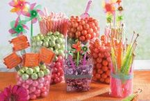 Candy Buffet Ideas / Inspiration to help you create the perfect candy buffet at your next wedding, birthday party, bridal shower, theme party or any party!