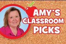 Amy's Classroom Picks / Our Education Product Development Specialist and former teacher, Amy J., has handpicked products that will help you manage and inspire kids to do their very best every day.